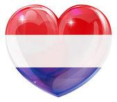 Fotografie Netherlands love heart