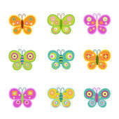 Photo Retro Butterfly Set