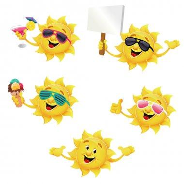 Sun Character Set