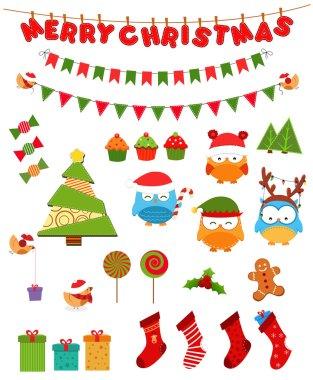 Retro Christmas Set
