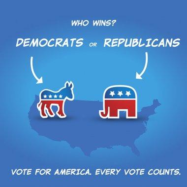 Who wins? Democrats or Republicans?