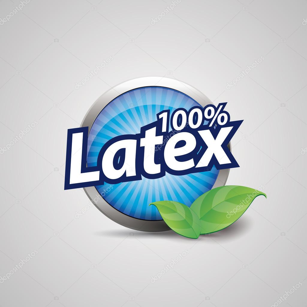 Latex button