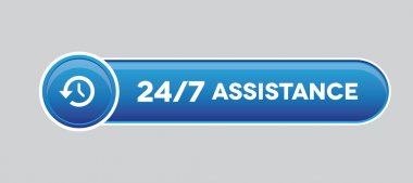 24 hour assistance button