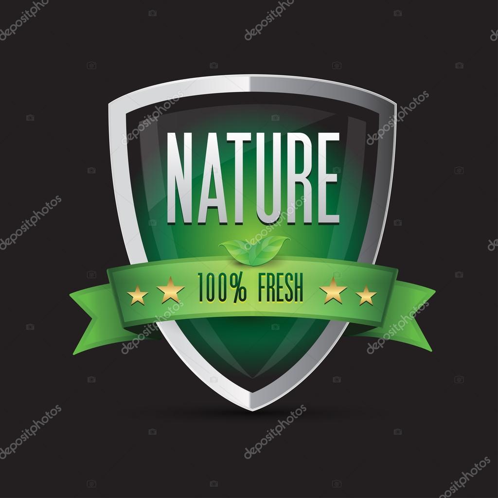 Nature - 100 percent fresh shield