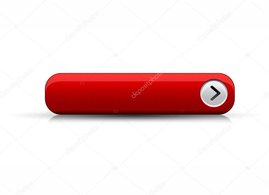 Empty button red
