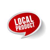 Místních produktů bublinu