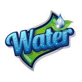 Fényképek ivó- és víz címke vektor