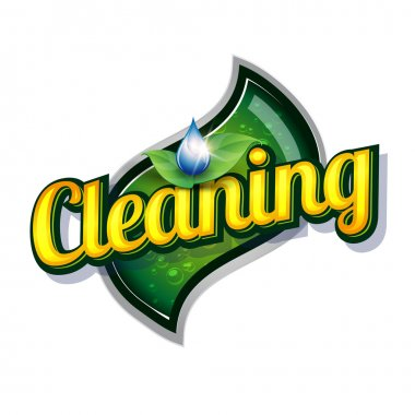 Cleaning service - vintage sign