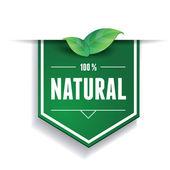 Fotografia naturale etichetta o nastro