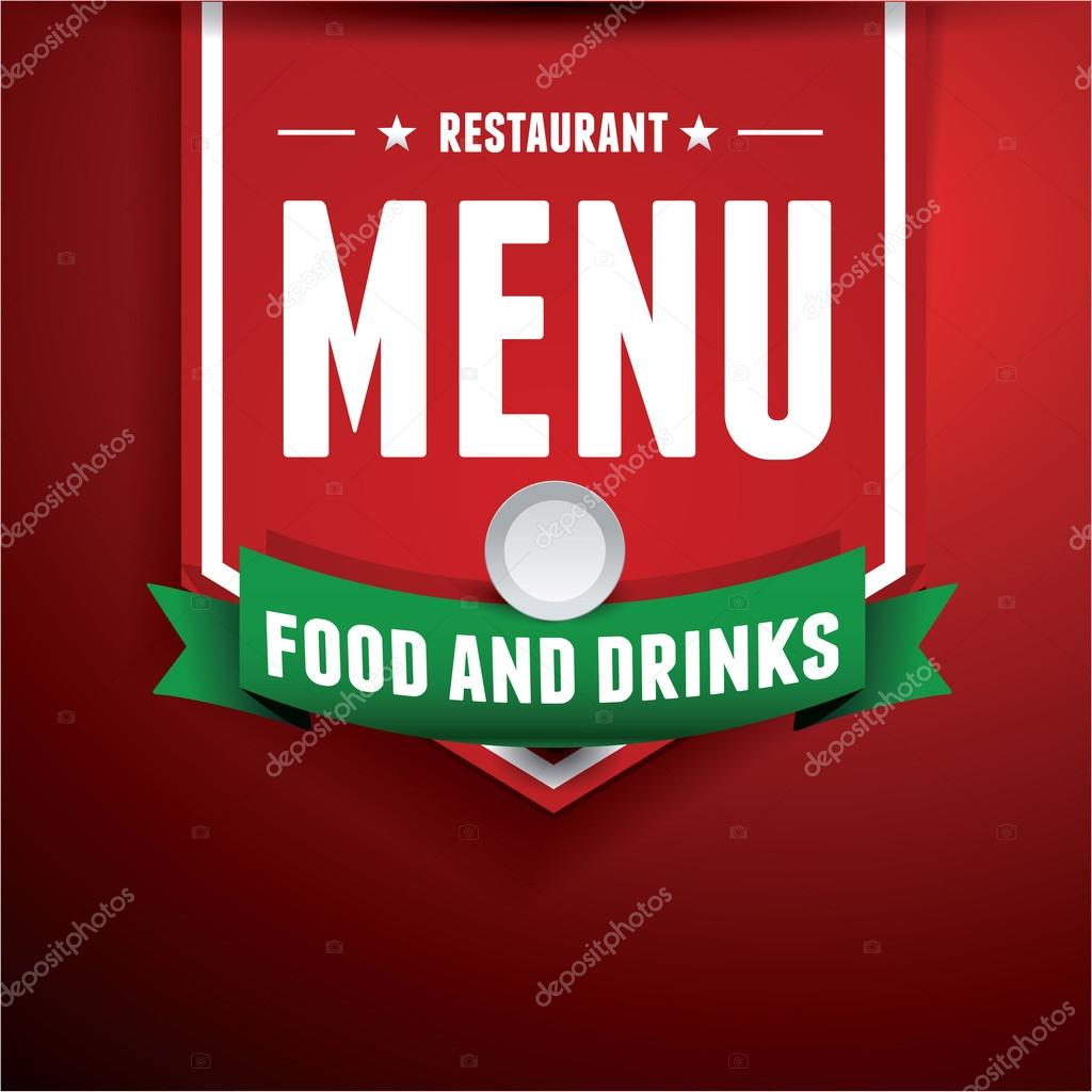 Vector Restaurant Menu Design Stock Vector C Grounder 31655643