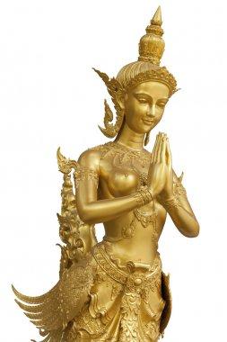 Goldent Ginnaree statue art