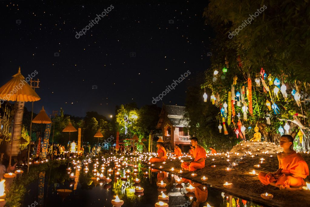 New year anniversary festival at Chaing mai