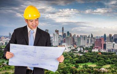 Asian civil engineer