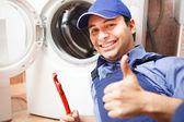 Fotografie technik, oprava pračky