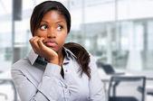 Fotografie Business woman thinking