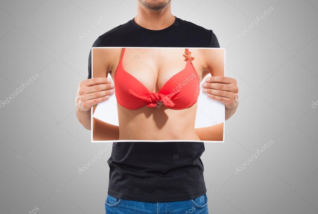 Держать за грудь фото спасибо