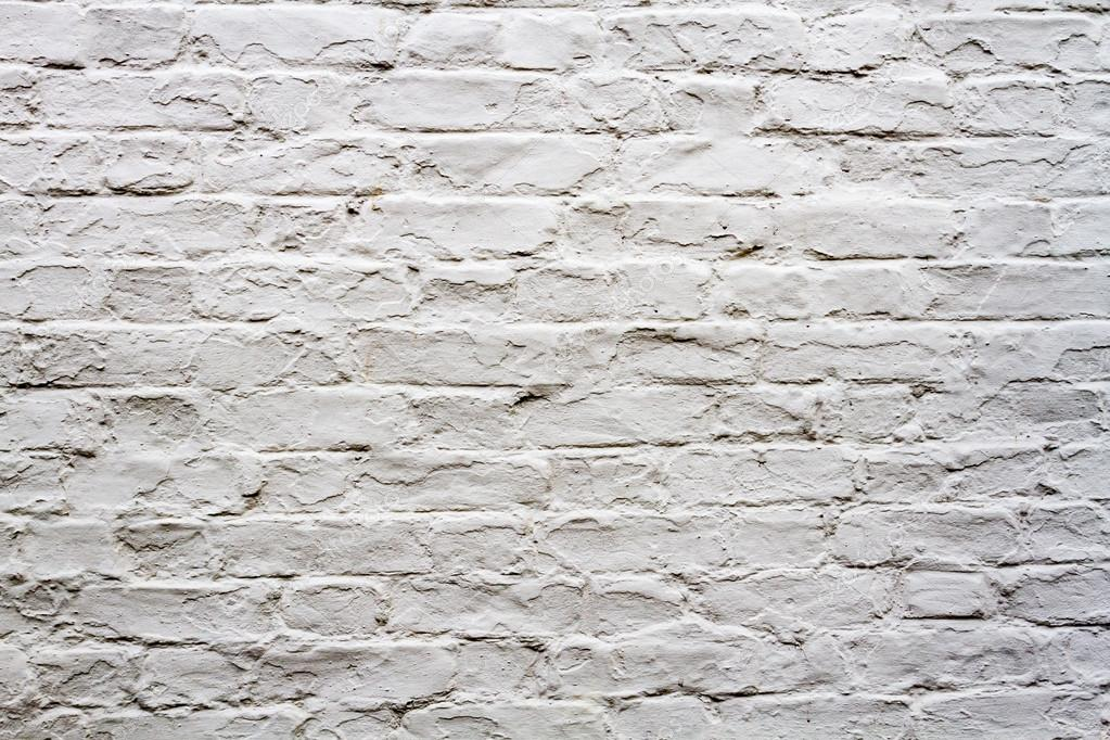Old White Brick Wall Background Stock Photo Shaiith79
