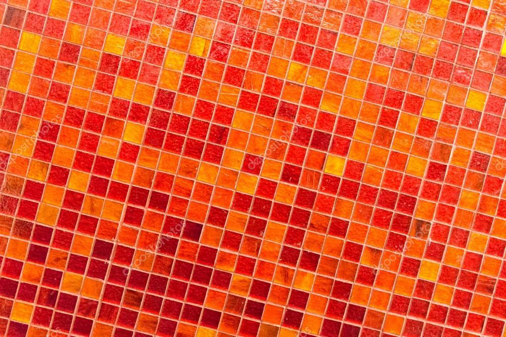 Mosaico arancio u foto stock kyrien