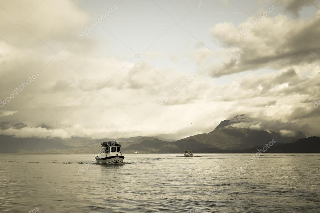 Fishing Boat in the Kachemak Bay