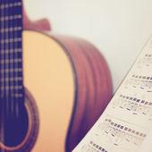 Fotografia chitarra classica