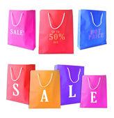 Photo Sale shopping bags