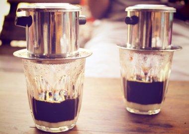Coffee dripping
