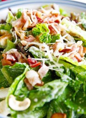 Delicious cesar salad