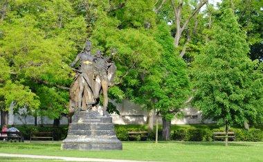 Statue in park, Petrin, Prague
