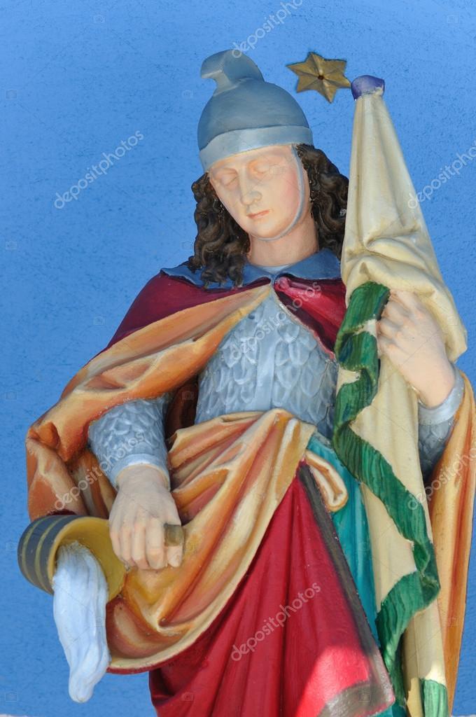 消防士の聖フロリアンの守護聖人...