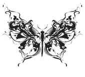 Fotografie Abstract design butterfly