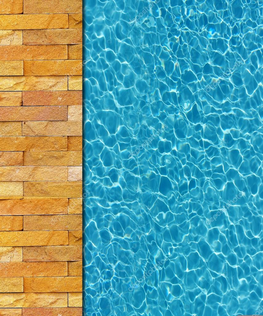 Swimming Pool Background cool water in swimming pool background — stock photo © kritiya