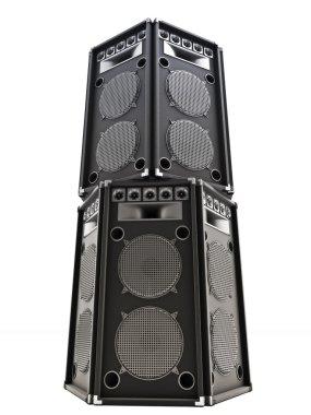 Large audio Tower speakers