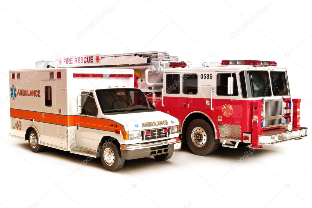 First reponder vehicles