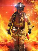 hasič hledání přeživších