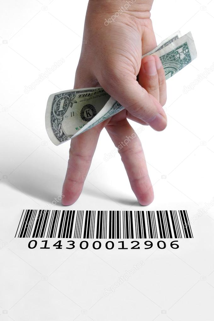 Barcode On A Dollar Bill