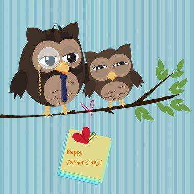 Father's day owl