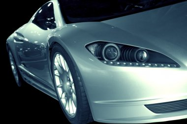 Abstract Sports Car 3