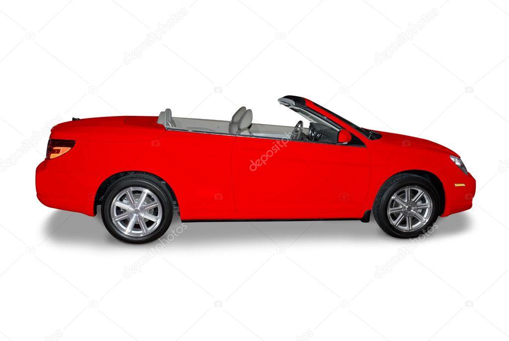 Extrêmement Voiture décapotable rouge — Photo éditoriale #33537229 RV61