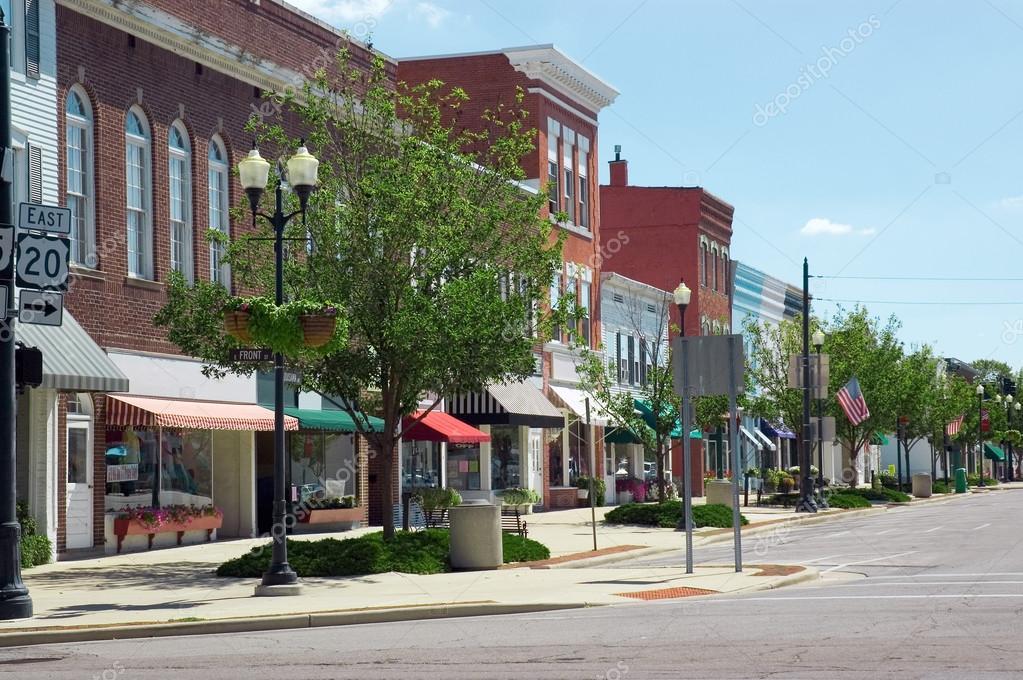 Фотообои Small Town U.S.A.