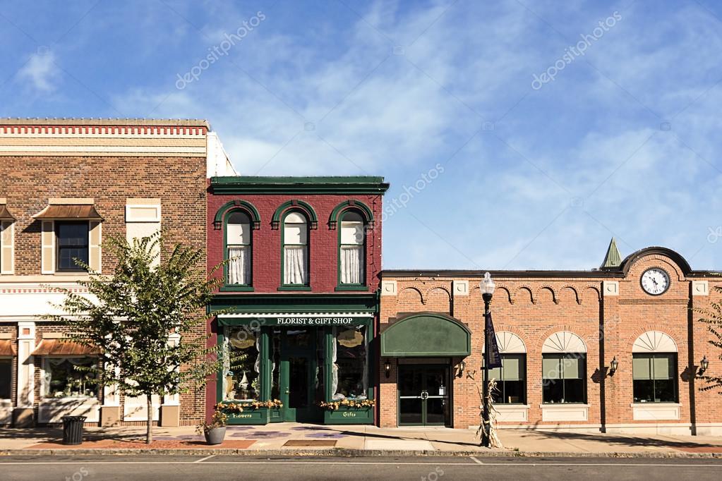 Small Town Main Street
