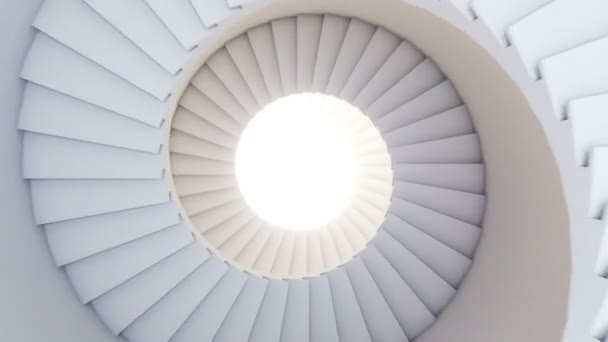 Spiral stair to the future.
