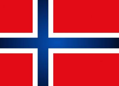 Norway Flag. Vector illustration.