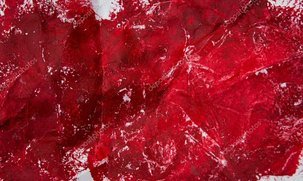 Abstract red oil painting