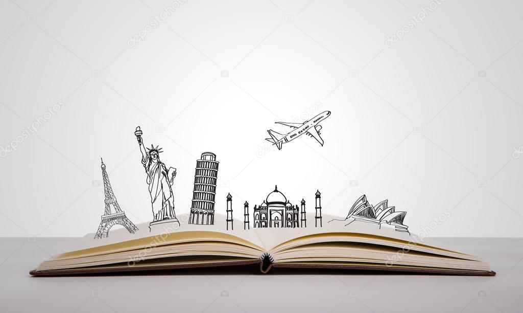 Book of travel (Australia,France,I taly,New York,India,)