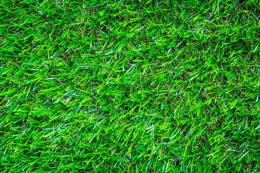 Artificial green grass background texture