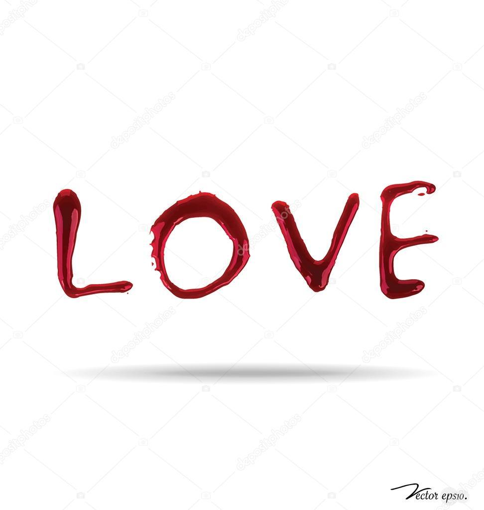 Love Written In Blood Wallpaper : ?????????????? ???? ???????? ? jannystockphoto #39290109