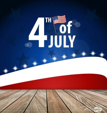 4th of July, Happy independence day United States of America. Ve