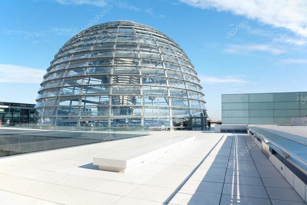 Reichstag Kuppel Berlin Moderne Architektur Redaktionelles