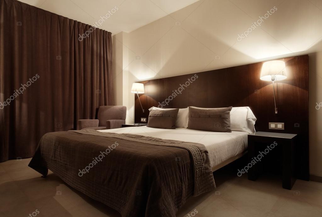 moderne luxe slaapkamers interieur design stockfoto