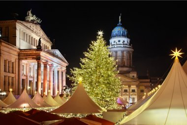 Christmas market in Gendarmenmarkt, Berlin